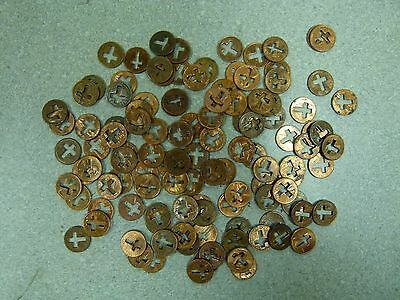 50 Cut Out Cross Pennies