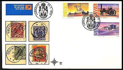 1975 South West Africa - Traction Engine - Cover - J48