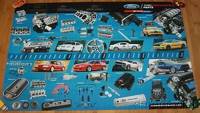 2016 Ford Performance Parts 35 Years Mustang SEMA Show Promo Poster