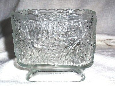Beautiful Square Antique Glass Candy Dish - Fill With Love!