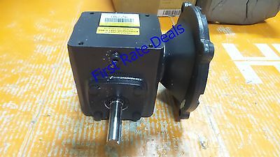 DAYTON 4Z290 Speed Reducer C-Face 56C 10:1 Ratio Right Angle 1750 175 RPM 3/4 HP