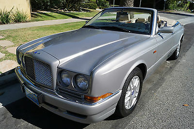 1999 Bentley Azure 1 OF ONLY 141 BUILT IN '99! 1999 STRIKING 'BRIGHT SILVER' & 'PARCHMENT' LEATHER /'ROYAL BLUE' PIPING & 59K!