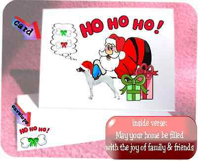 30 Pointer Christmas cards & envelopes 60 pieces laser Santa Ho Ho Ho design