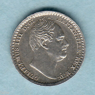 Great Britain. 1834 William 1111 - Maundy Penny.. gEF
