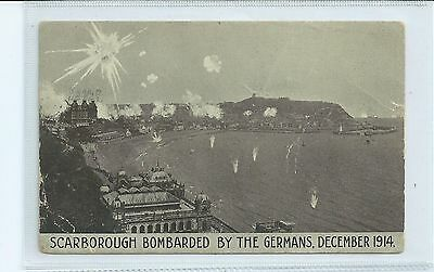 Postcard Scarborough December  1914  Bombarded  By The Germans - Used