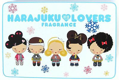 Harajuku Lovers Fragrance SNOW BUNNIES Metal Box (Empty) Collectible