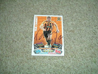 Tom Cairney - Hull City - Signed 11/12 Match Attax Trade Card