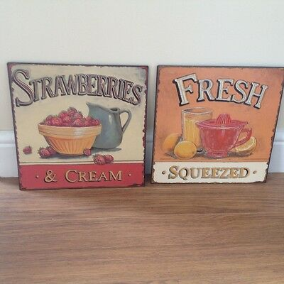 vintage wall plaques (new)