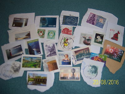 6g USED NORWAY STAMPS (2)