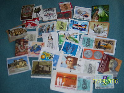5g USED CYPRUS STAMPS (3)