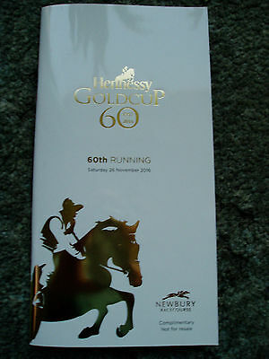 Newbury Hennessy Gold Cup 2016 Racecard,