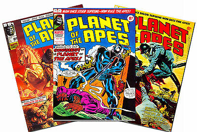 139 Planet of the Apes Marvel Comics Issue1-123 Uk British 1974-77 Full Set 288