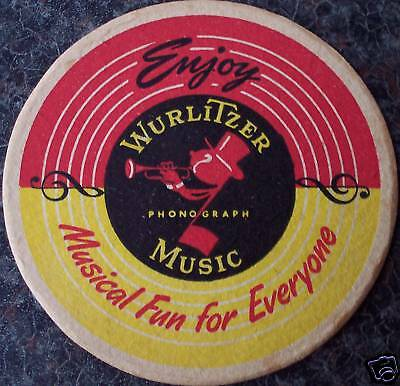 Original Johnny One Note Drinks Coaster / Beer Mat