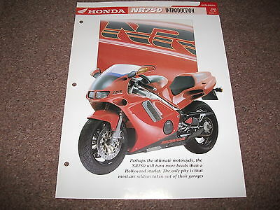 HONDA NR750 ( RC40 ) the complete essential superbike file