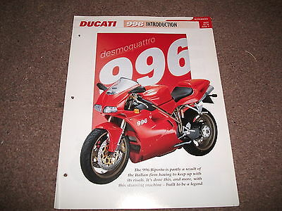 DUCATI 996 the complete data/fact file from essential superbikes