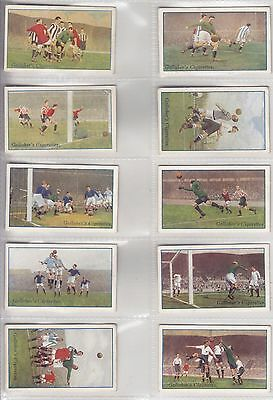 Gallaher, Footballers in Action, Full Set of 50, 1927.