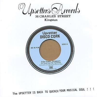 """LEE PERRY & THE UPSETTERS * Dub Plate Pressure 7"""""""