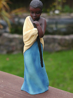 Soul Journeys Colourful Maasai Figure Named Chiumbo