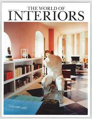 World Of Interiors Magazine August 2012 Limited Edition Collectors Cover New