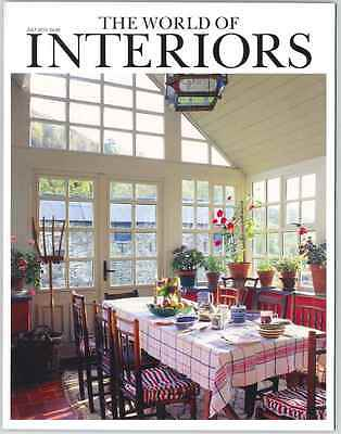 World Of Interiors Magazine July 2013 Limited Edition Collectors Cover New