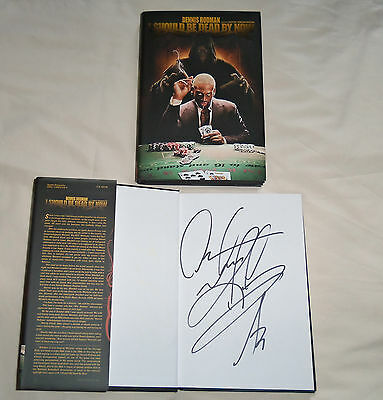 NBA : Chicago Bulls / Brighton Bears Dennis Rodman Autographed Book - New
