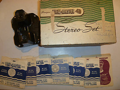 View-Master Stereo Boxed With 21 Slides Wonders Of The World View Master