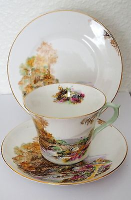 "Shelley China Trio ""HEATHER"" Pattern number 13419"