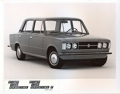 Fiat 124 Special & T - 3 original official press photos