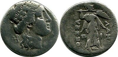 AR Drachm Mid-late 2nd c. Griechenland Thessaly, Thessalian League.
