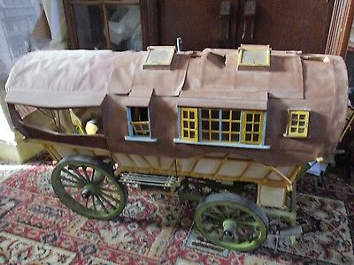 Very Large Hand Made Gypsy Caravan For Restoration