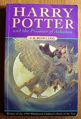 Harry Potter and the Prisoner of Askaban - J K Rowling - 1999 first pb edition