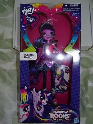 My Little Pony Equestria Girls Rainbow Rocks Twilight Sparkle Doll!!!