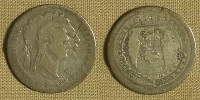 Great Britain: 1816 6p restruck by unknown dies, very rare  CGE263