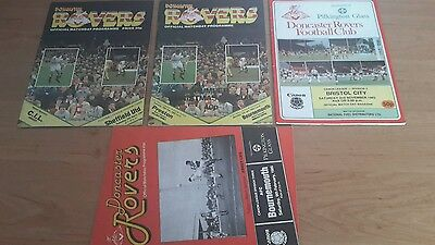 4 - Doncaster Rovers Programmes 1983 - 1985