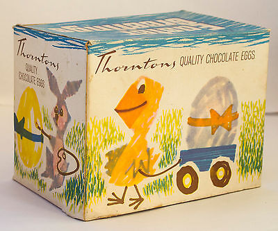 Thorntons cardboard Easter egg box from 1950s/60s