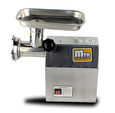 New MTN Gearsmith Commercial #12 Electric Meat Grinder Mincer Sausage Stuffer