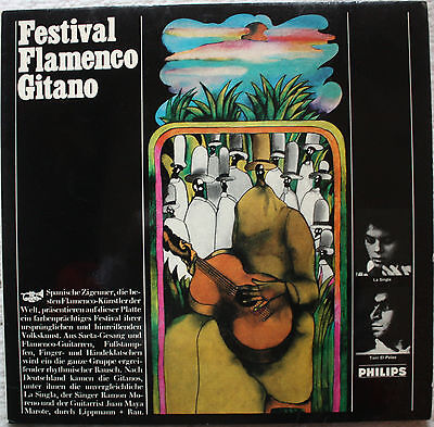 Various - Festival Flamenco Gitano GER OG LP PC (#03867)