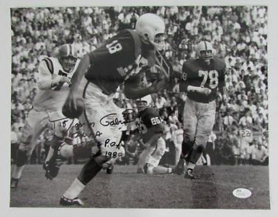 Roman Gabriel North Carolina State Signed/Autographed 11x14 Photo JSA N70630