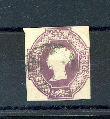 Great Britain 1847-54  Embossed  6d Lilac  (SG 59) very fine-used  (D503)