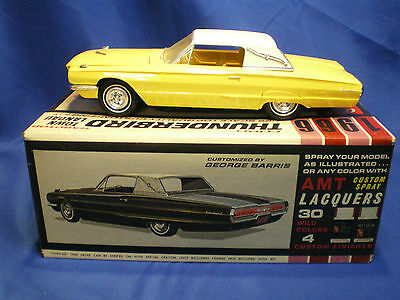 1966 Ford Thunderbird Hard Top by AMT built factory stock with box Kit # 6226