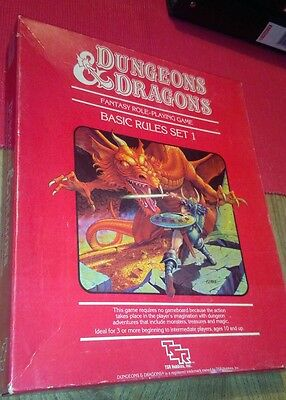 dungeons and dragons basic set 1
