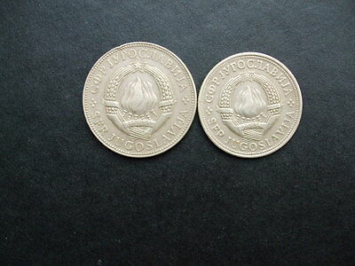 Two Old Coins From Yugoslavia 5 From 1972 & 10 From 1976