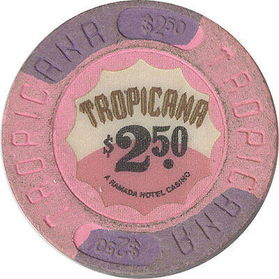 Tropicana - $2.50 Casino Chip