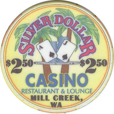 Silver Dollar Casino - $2.50 Casino Chip