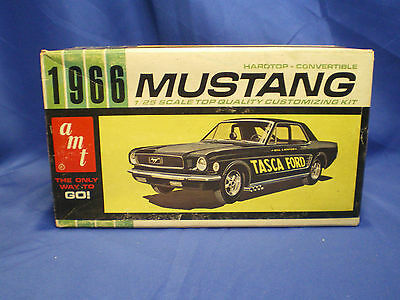 1966 Mustang Convertible Hard top by AMT built factory stock with box Kit # 6156