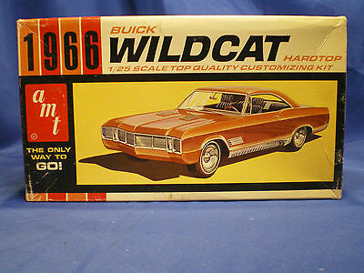 1966 Buick Wildcat Hard top by AMT built factory stock with box Kit # 6526