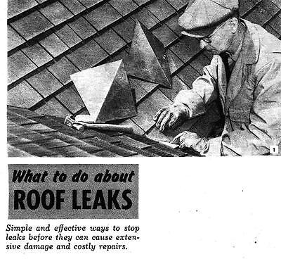 How To Repair Fix Leaking Leaky Roof Shingles Worn Damaged Roofing Material #561