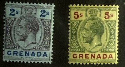 Stamps: Grenada: SG# 97 & 100, MLH F-VF   (D039)