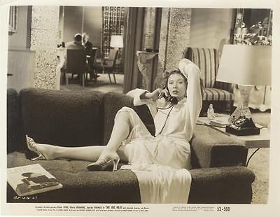 """the Big Heat""-Original Photo-Gloria Grahame-Cheesecake-Noir-Best!"