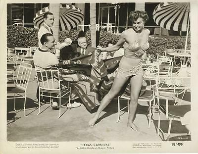 """texas Carnival""-Original Photo-Esther Williams-Cheesecake"
